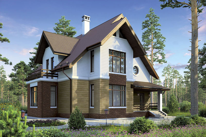 Сколько стоит обшить дом сайдингом - расчет, стоимость ...